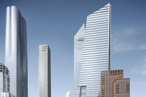 ENLARGE Property: 10 Hudson Yards. Foreign Backers: Kuwait Investment Authority, Oxford Properties (Canada). Use: Office. Size: 1.7 million square feet PHOTO: RELATED-OXFORD