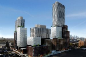 ENLARGE Property: Pacific Park Brooklyn. Foreign Backers: Greenland Group (China). Use: Mostly residential. Size: 8 million square feet PHOTO:SHOP ARCHITECTS